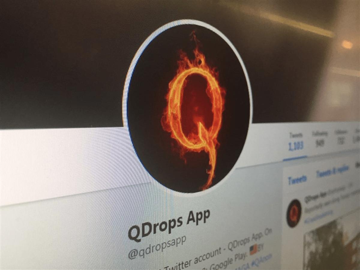 Image of QDrops app.