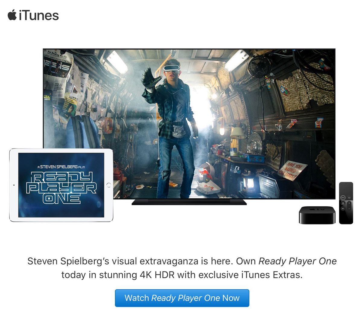 Ready Player One on iTunes