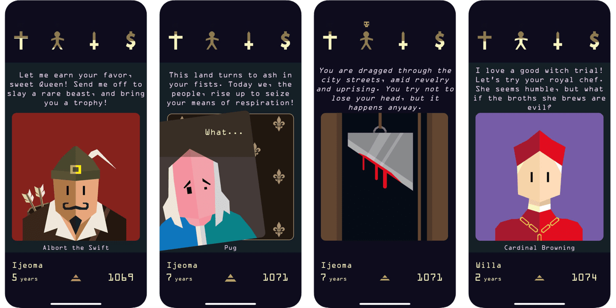 iOS App Discount: Reigns Her Majesty Down to $1.99