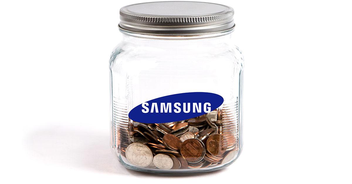 Samsung Smartphone Sales Growth Slows
