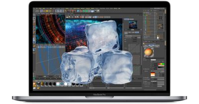 Core i9 MacBook Pro with ice