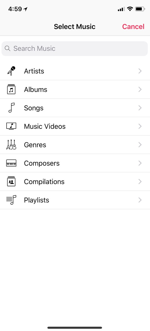 Select Music for Alarm on iPhone