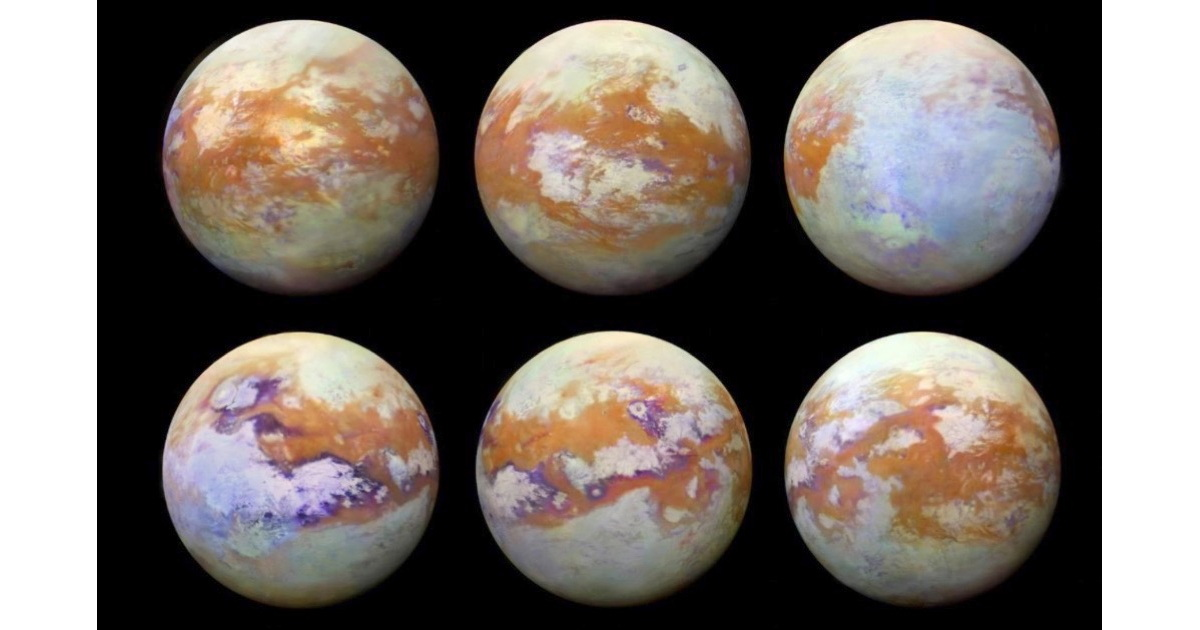 More Cool Space Images: Saturn's Moon Titan