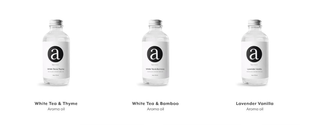 Image of Aroma Tech essential oils.