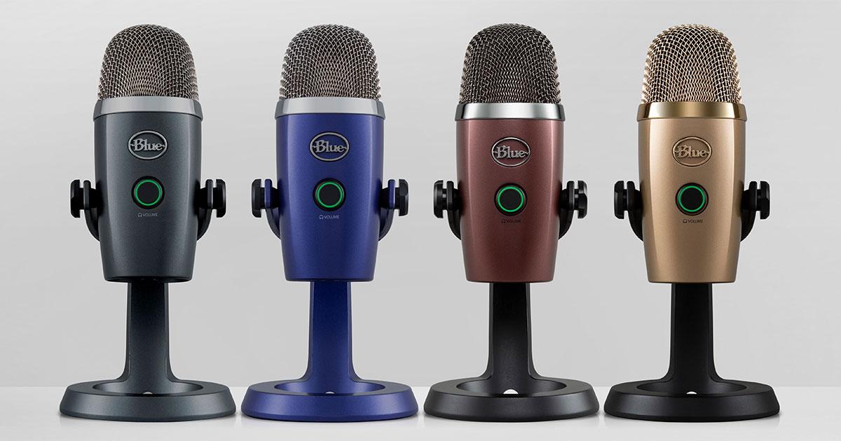Blue Microphones Announces Yeti Nano USB Mic for Content Creators, Includes Mac/PC Controller App