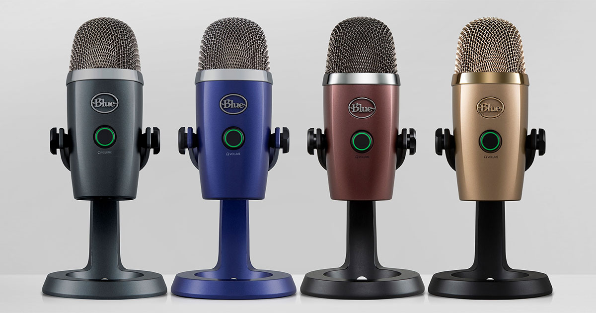 Blue microphone announces Yeti Nano USB microphone for content creators, including Mac / PC controller application