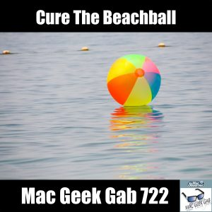 Floating Beachball with text