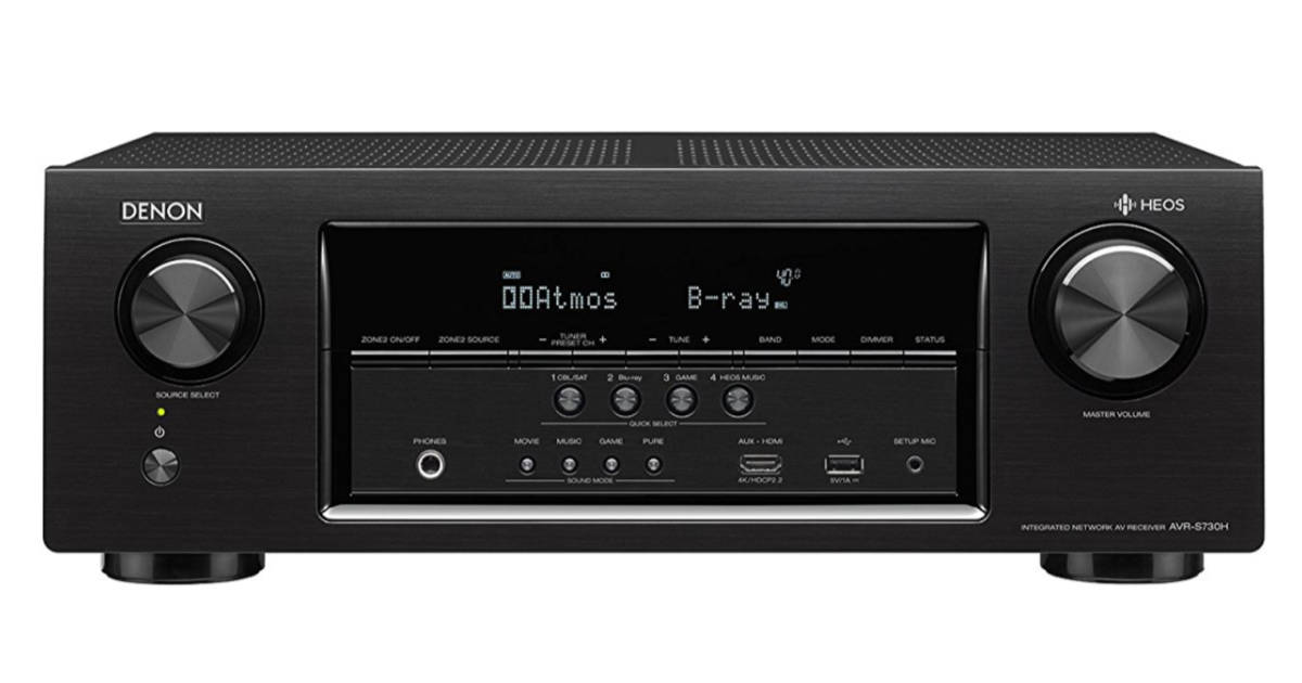 Denon AirPlay 2 receiver