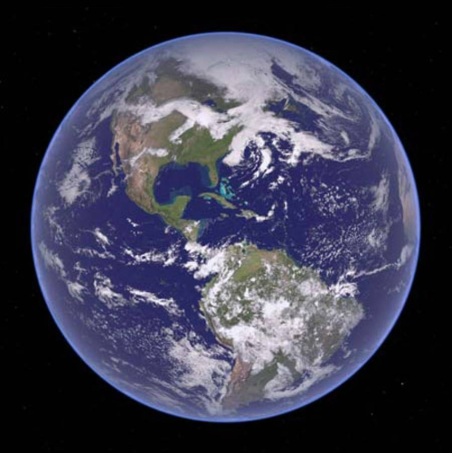 Image of Earth for our Apple TV guide.