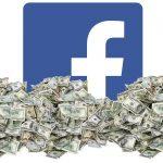 Facebook in a big pile of money