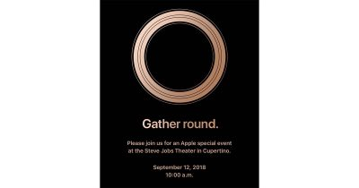 Gather Round Apple Media Event