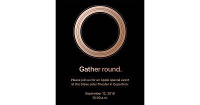 Gather Round Apple Media Event