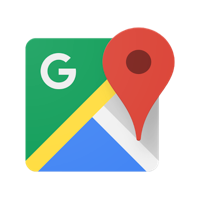 Image of Google Maps in our list of Google alternatives.