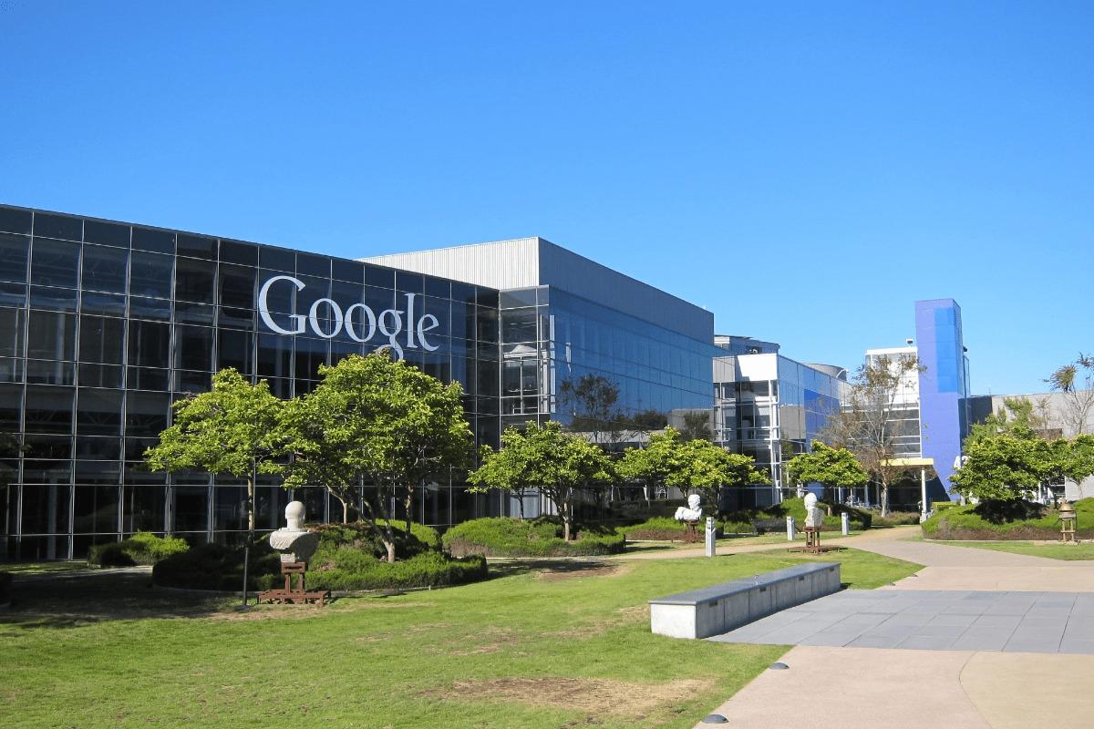 Image of Google headquarters.