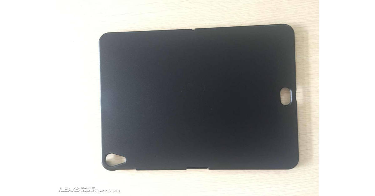 Supposed case for redesigned iPad Pro