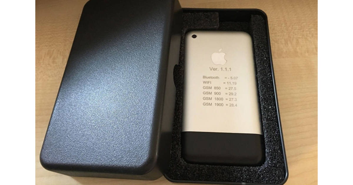 Prototype iPhone on eBay Going for More than $12,500
