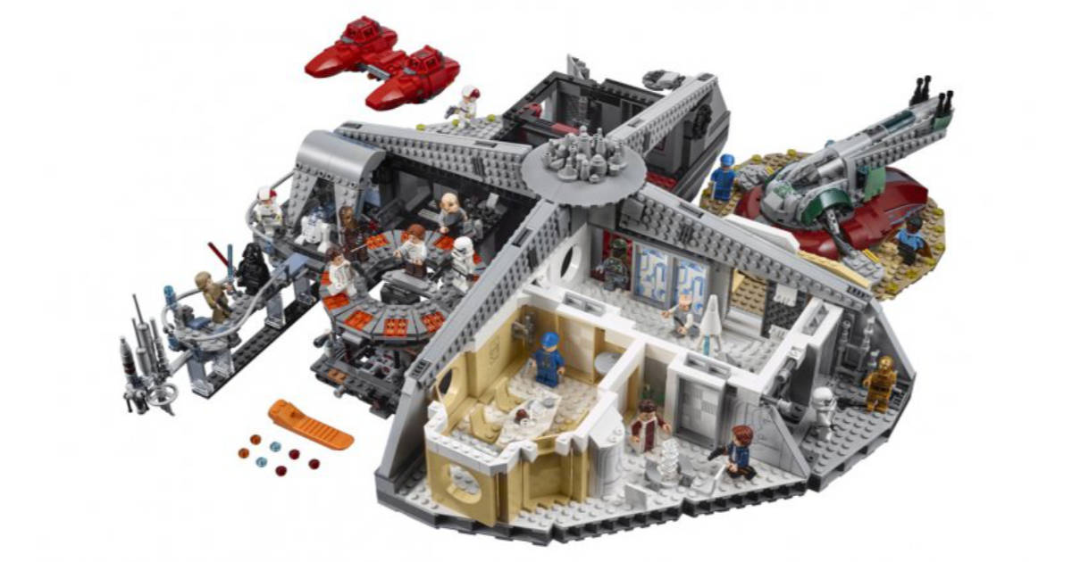 LEGO's Star Wars Cloud City is the Bespin Lando Deserves