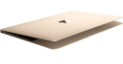 gold Apple MacBook