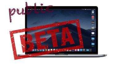 macOS Mojave public beta
