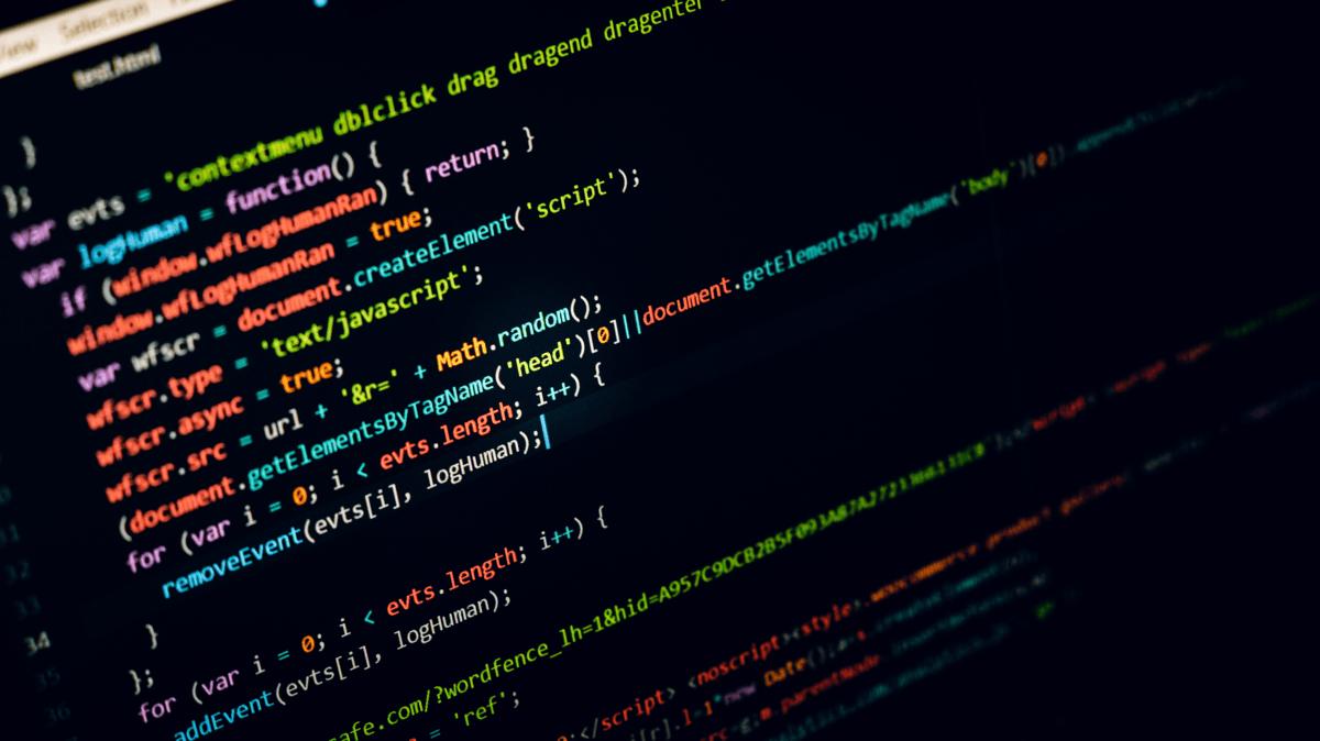 Generic image of computer code.