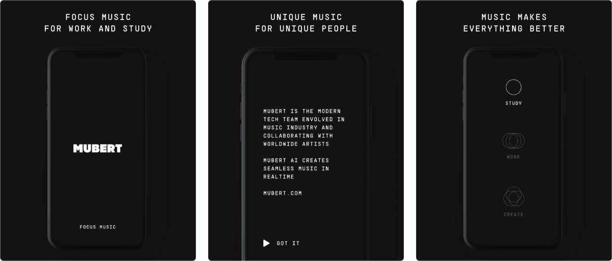 Mubert Gives You Focus Music Created by AI