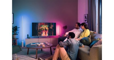 Philips Hue Signe light strip floor lamp