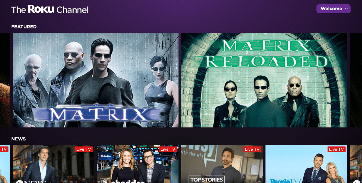 Roku Launches Free TV Service On the Web