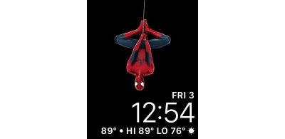 Spiderman Apple Watch Face