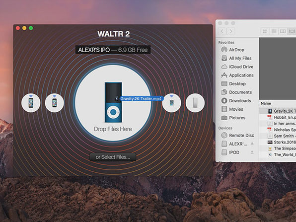 Wirelessly Transfer Music, Videos, PDFs, More to Apple Devices with WALTR 2: $19