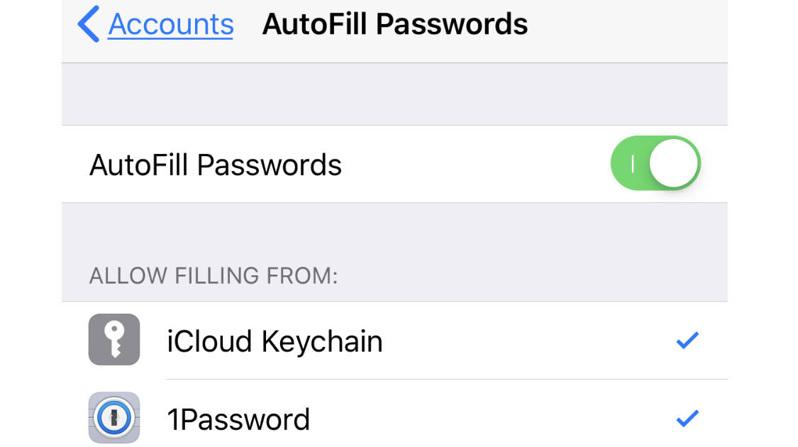 1Password Adds iOS 12 Password AutoFill Support