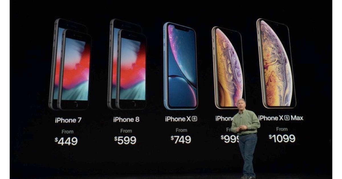 SVO Schiller shows 2018 iPhone lineup