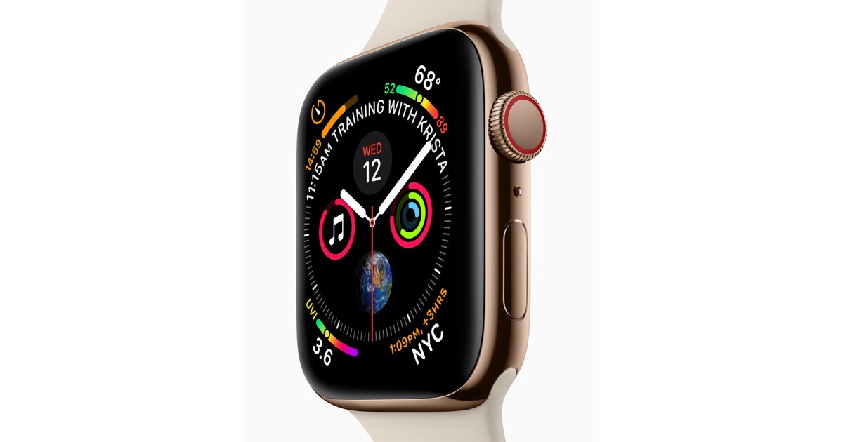 Here's the Best Apple Watch Series 4 Size Comparison