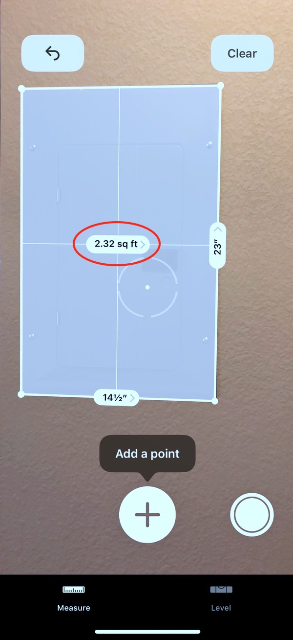 iOS 12 Measure app Copying Measurements from App
