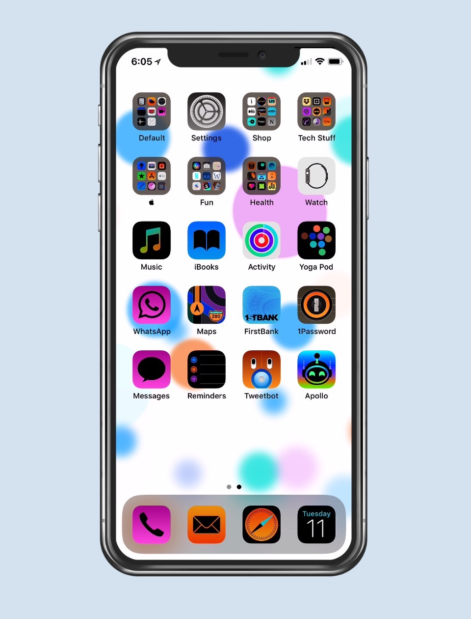 Inverted Colors on iPhone