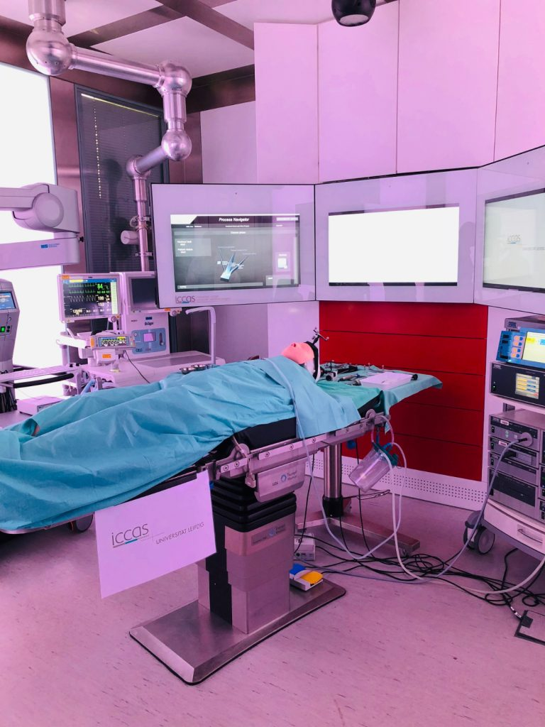 The operating suite of the future will include robots, sensors, monitors, and more.