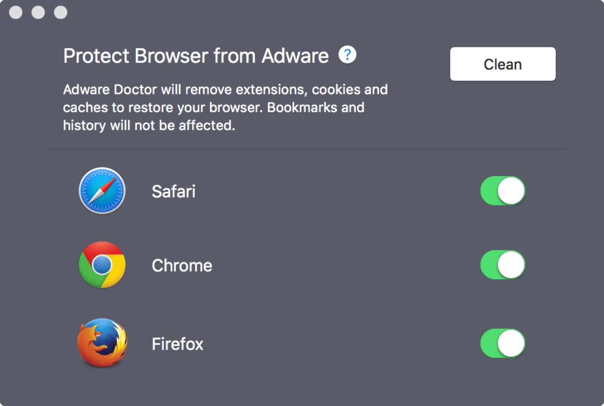 MacAdware Tools Image of adware physician