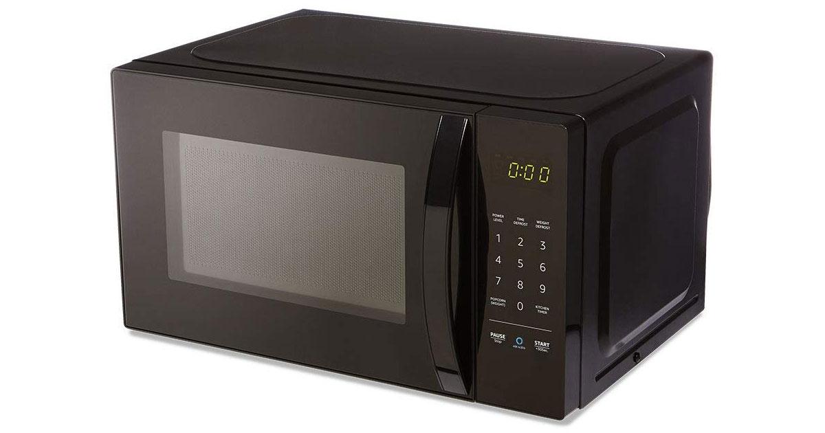 AmazonBasics Microwave, Now with More Alexa
