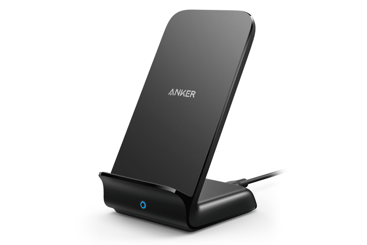 Image of Anker charging stand in our roundup of iPhone Xs USB-C accessories.