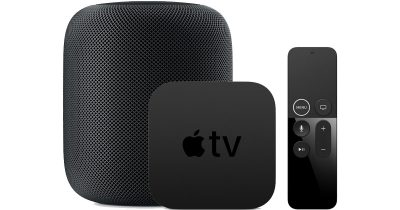 HomePod and Apple TV