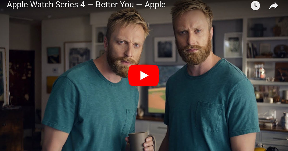 """Apple """"Better You"""" commercial"""