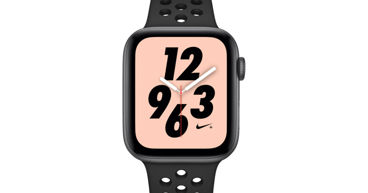 girar Ananiver diapositiva  Nike+ Apple Watch Series 4 Not Available Until October 5 - The Mac Observer