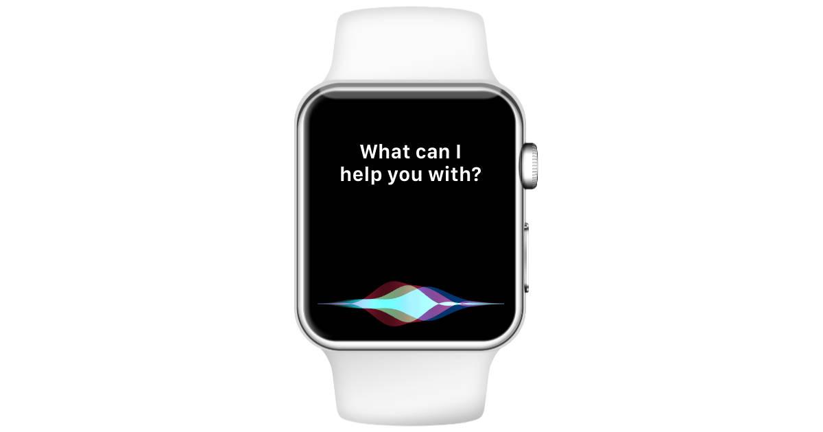Apple Watch and Siri