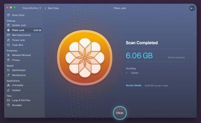 CleanMyMac X Screenshot