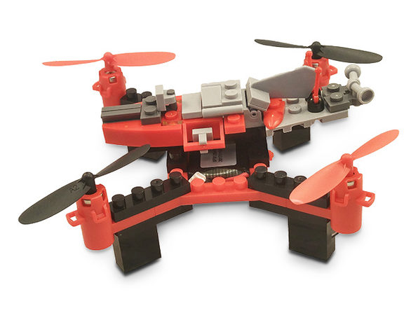 Force Flyers DIY Building Block Drone: $42.99