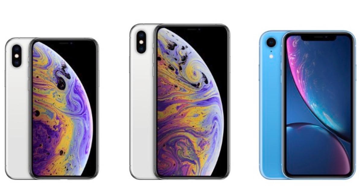 Compare All Three New iPhones: XS, XS Max, XR