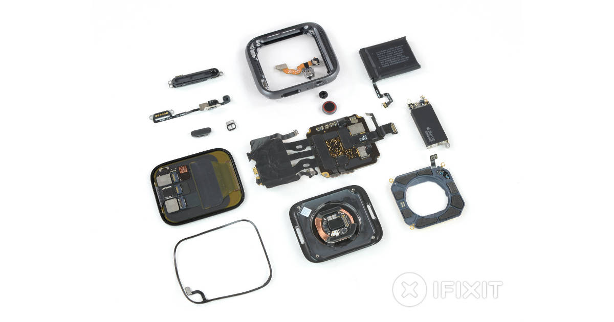 Apple Watch Series 4 iFixit teardown