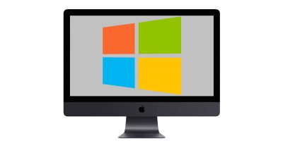 iMac with Windows in Bootcamp