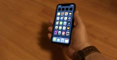 iOS 12 on iPhone X