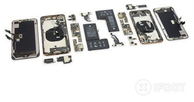 iPhone XS and iPhone XS Max iFixit teardown