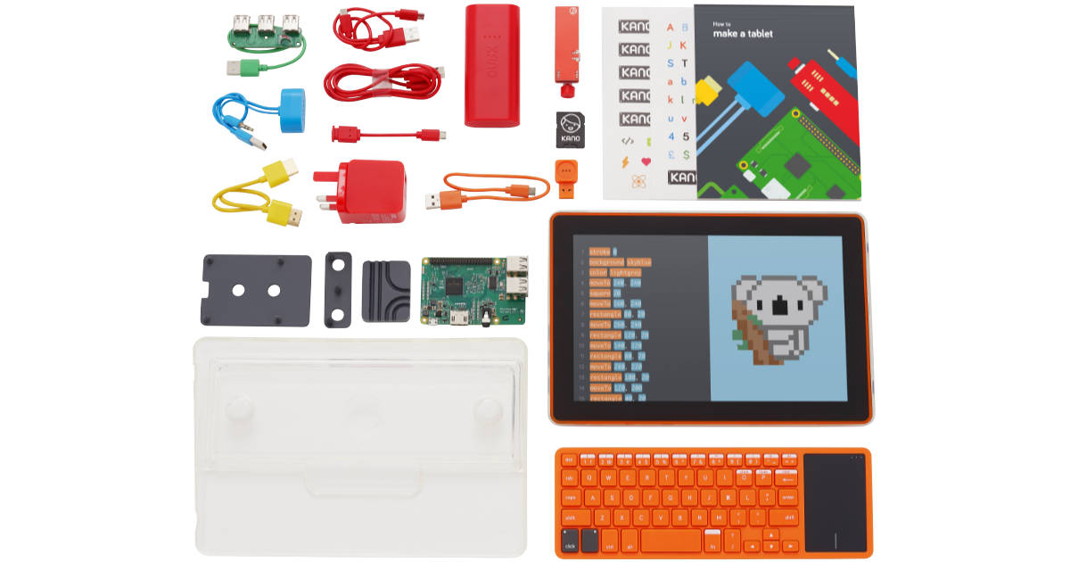 Build Your Own Touch Screen Computer with Kano's Computer Kit Touch